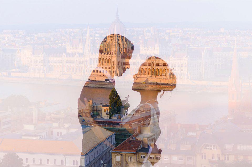 Budapest Wedding on Fisherman's Bastion