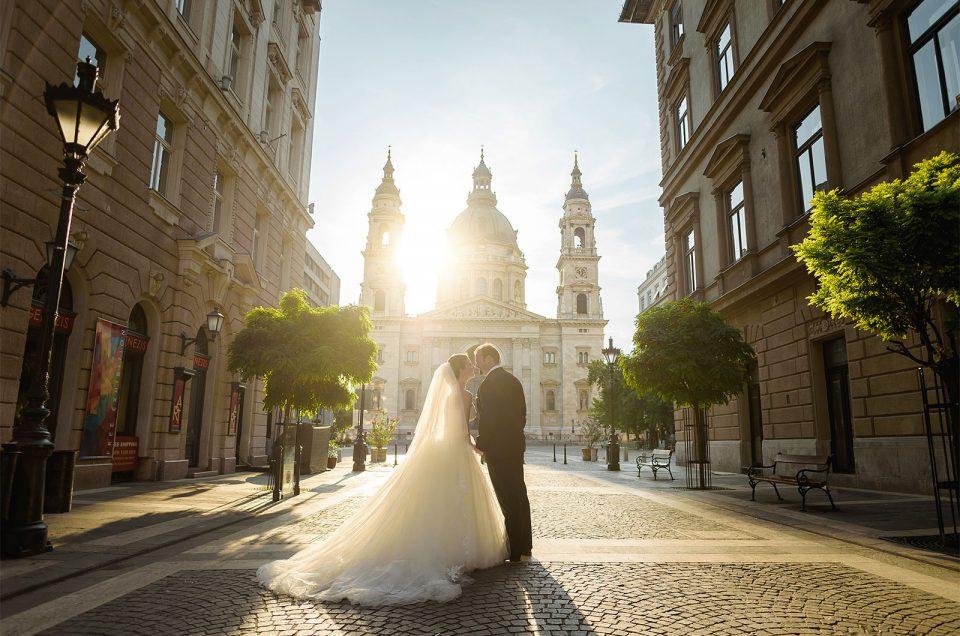 Esküvő a Halászbástyán és a Corinthia Hotelben